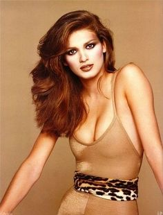 Gia Carangi ... tragic loss for the modeling industry..so beautiful