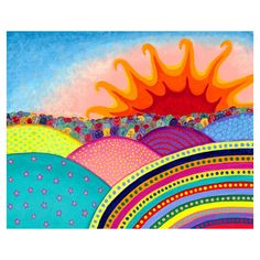 Hope from Micky Fine Art Signed Giclee Print - profits donated to... ($25) ❤ liked on Polyvore
