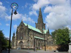 St. Mungo's Cathedral, Glasgow, Scotland.
