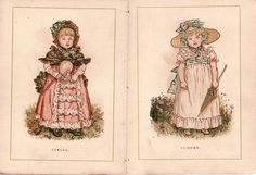 Kate Greenaway Alamanck 1885 | Flickr - Photo Sharing!