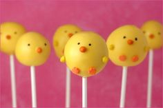 Cute idea for duck theme birthday party...these are too cute!!!