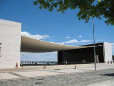 Álvaro Siza Vieira's Portuguese Pavilion for Expo 98, in Lisbon. Photo: C. S. Ogden.
