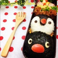Pingu & Pinga Bento. Cute for the kids