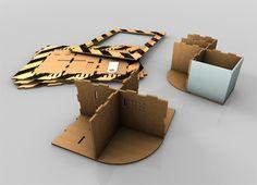 Yanko Design » Cardboard Furniture, Surprisng Results