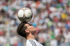 Bale arrives in Madrid: Welsh international soccer player Gareth Bale