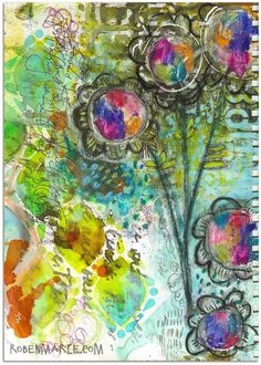 WANTED art journal page | by Roben-Marie