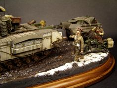 Louis Daguerre, Military Diorama, Skin So Soft, Churchill, Scale Models, Inventions, World War, Wwii, Tanks
