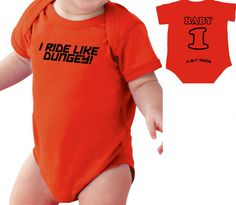Motocross Baby T Shirt Creeper Infant One Piece I by JUSTRIDE928 #MOTO #BABY #DUNGEY #SUPERCROSS #MOTOCROSS #KTM #JUSTRIDE
