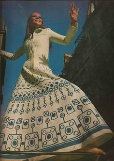 Penelope Tree in the 60s. She was one of the quintessential Biba girls