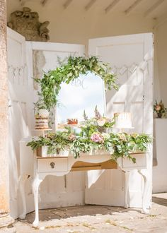 Candybar Wedding, Wedding Desserts, Wedding Decorations, Decor Wedding, Wedding Reception, Wedding Gifts, Wedding Cakes, Rustic Romance Wedding, Chic Wedding