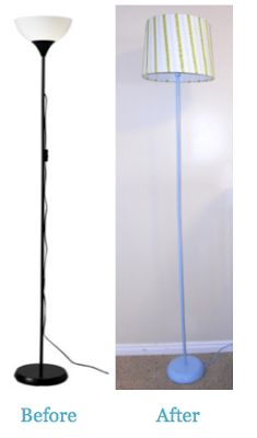 floor lamp makeover lamp makeover and floor lamps on pinterest cheap floor lighting