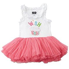 72320075f2d Amazon.com  Mud Pie Baby Girl s Birthday Tutu Dress  Infant And Toddler  Skirts Clothing Sets  Clothing