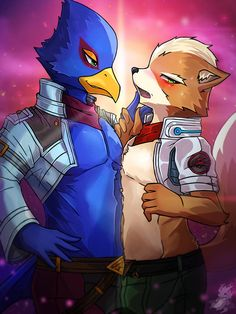 We start with Falco Lombardi first. Starfox owned by Nintendo [Starfox] Falco Lombardi Male Furry, Yiff Furry, Star Fox, Super Smash Bros Characters, Fox Mccloud, Fnaf Drawings, Furry Drawing, Tsundere, Animals