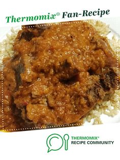 Recipe Osso Bucco by Crazydonkeylady, learn to make this recipe easily in your kitchen machine and discover other Thermomix recipes in Main dishes - meat. Meat Recipes, Gourmet Recipes, Dinner Recipes, Healthy Recipes, Recipe Community, Food N, Main Meals, Food Print, Thermomix