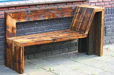 Wooden Pallet Furniture Smart Ways Make Wood Pallet Furniture 44 Wooden Pallet Projects, Wooden Pallet Furniture, Wooden Pallets, Wooden Diy, Rustic Furniture, Wooden Pallet Signs, Pallet Wood, Furniture Projects, Diy Furniture