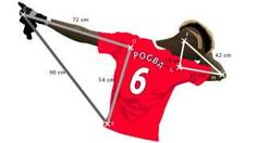 Paul Pogba's trademark dab celebration is being used to teach children math.  Add in Cam Newton and have kids do the math to see who's dab is the best!