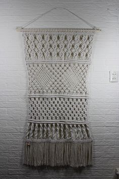 Macrame Wall Hanging handmade by MarianKorving on Etsy, €275.00
