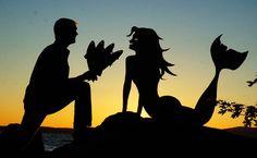Sunset Selfies – Quand un photographe s'amuse avec des silhouettes en carton