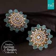 Pearl Necklace Designs, Jewelry Design Earrings, Gold Earrings Designs, Cuff Jewelry, Gold Jewellery Design, Fashion Jewelry Necklaces, Indian Jewelry Sets, Jewelry Patterns, Bangles