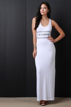 Give In To Me Maxi Dress
