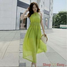 Casual High Neck Halter Maxi Dress for only P649 at ShopThisEasy.com Click Here: http://www.shopthiseasy.com/shops/casual-high-neck-halter-maxi-dress-a95a6.html