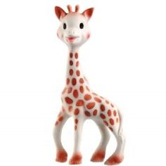 Introducing Sophie the giraffe, the only 100% natural rubber teething toy in the world. A huge hit worldwide, and is now available right here. Made by Vulli, a French company, Sophie has been in production for over 49 years and she still looks the same today as she did many years ago. Made from 100% natural rubber derived from the sap of the Hevea tree that grows in Malaysia, that is perfectly safe to chew. Her features include:  * easy to grip even for small hands  * soft and nobbly parts…