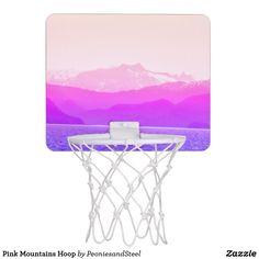 Pink Mountains Hoop