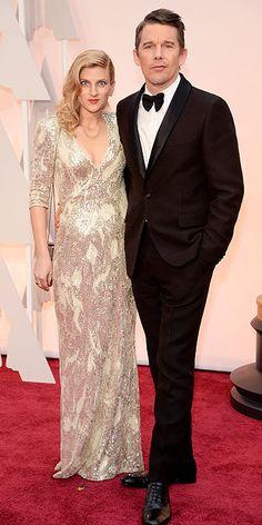 Ryan and Ethan Hawke  #Oscars #STYLAMERICAN #RedCarpet