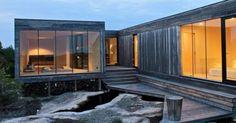 Disse hytteeierne får maks kontakt med naturen.