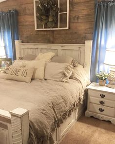 The ultimate look for a beach cottage or shabby chic inspiration to this white distressed panel bed carries you away to a dreamy time and place. This white distressed finish is easy on the eyes and relaxing. Plank-style detailing in the headboard and foot board incorporates a classically rustic touch, so homey and comf