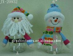 De plástico botella de regalo, Santa y muñeco de nieve de plástico botella conjunto-imagen-Suministros de Decoración de Navidad -Identificación del producto:510863379-spanish.alibaba.com