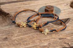 Christening Themes, Photo And Video, Bracelets, Gold, Leather, Jewelry, Wedding, Valentines Day Weddings, Jewlery