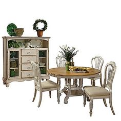 Hillsdale Wilshire Dining Set With Bakeru0027s Cabinet  Bed Bath And Beyond