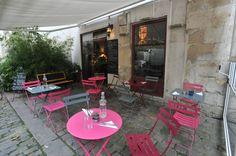 """""""La petite maison dans la cour"""" Magic place and traditional french food. Restaurant français · Salon de thé 9 rue st Paul (dans la cour), Paris."""