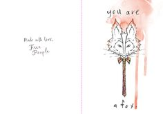 valentine - you are a fox | Flickr - Photo Sharing!