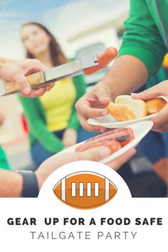 The supplies you need to keep your tailgating party free from food poisoning. 1 Year Baby Food, Football Party Foods, Food Safety Tips, Food Poisoning, Food Hacks, Food Tips, Best Friendship, Nutrition Tips, Baby Food Recipes