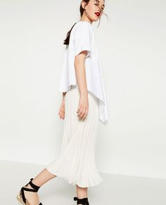 Image 5 of ACCORDION PLEAT SKIRT from Zara