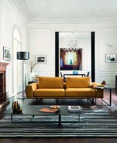 New from the 2014/2015 Collection - the very modern Tempo Sofa #Natuzzi #Design #Leather