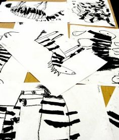 Sub plans first grade (1) Story. (2)How to draw a zebra.  (3) Rip black stripes to glue on top.