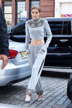 If You Think Gigi Hadid Is Wearing Normal Sweatpants, Wait Till She Turns to the Side