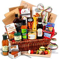 The Charcoal Connoisseur™ - BBQ Gift Basket (4083)