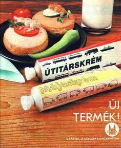 Útitárskrém Retro Recipes, Vintage Recipes, Illustrations And Posters, Evo, Vintage Advertisements, Hungary, Retro Vintage, History, Grand Budapest