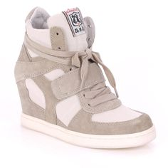 af5e8e711bac Ash - Clay heeled hi-tops - Ultimate sport lux trainers Ash Shoes
