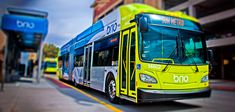My driver on one trip today was running late. His co-pilot said I was clear of the door when I was about halfway out. Slammed door on me. Different driver on way back. Yea. PK. l Paso's bus rapid transit system is known as Brio. Image via Sun Metro.