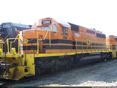 H&A 3352 (ex-BN) Description: Hilton & Albany RR's only unit thus far painted with their reporting marks. Photo Date: 10/13/2012 Location: Hilton, GA Author: Ken Roble Categories: Roster Locomotives: HAL 3352(SD40-2)