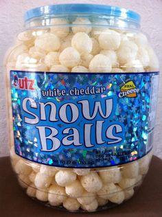 Utz White Cheddar Snow Balls Snack, 28 Ounce: Amazon.com: Grocery & Gourmet Food
