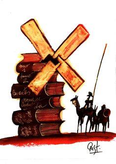 """Don Quijote de la Mancha - Fragmento """"Ese cuerpo, señores, que con piadosos ojos estáis mirando, fue depositario..."""