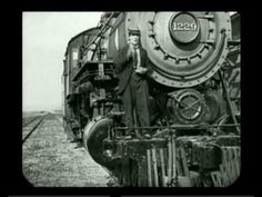 Buster Keaton - The train