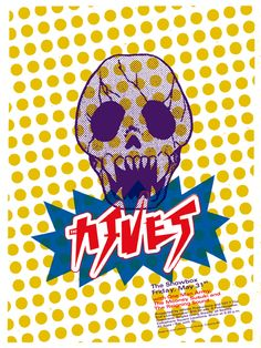 The Hives (Retro Concert Poster)