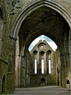 Rock of Cashel, Ireland.